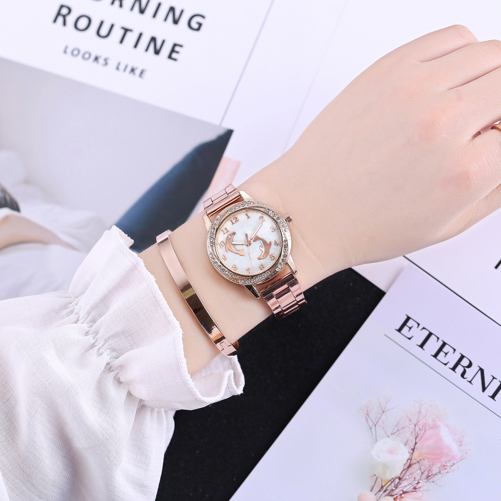 JBRL Women Watches Rose Gold Wrist Watch Ladies Luxury Brand Top Golden Quartz Wristwatch For Female Clock Hours Montre Femme 2017 new brand watch quartz ladies gold fashion wrist watches diamond stainless steel women wristwatch girls female clock hours