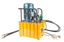 лучшая цена DB300-D2 380v 3kw 30L electric pump with double solenoid valve Hydraulic pump station Double circuit hydraulic machine