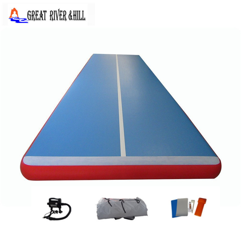 Great River Hill Inflatable Gym Equipment Used For Fitness Training Made By Hand Size 5m X 2m X 20cm With Competitive Price