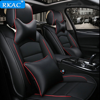 2018New PU Leather Auto Car Seat Covers Fit Mercedes Benz A C W204 W205 E W211 W212 W213 S class CLA GLC ML GLE GL Seat Cushion