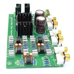 Image 4 - Lusya NE5532 調整することができ 2 範囲 2 ウェイスピーカーアクティブ周波数分周器クロスオーバー Linkwitz ライリー回路 DSP A8 014