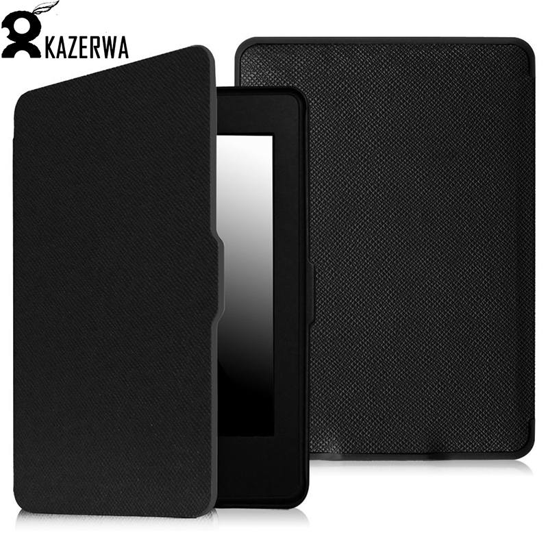 Ultra Slim Cover Case for Amazon Kindle Paperwhite 1 2 3 6 Case for Kindle Paperwhite 6 inch Tablet Shell With Sleep&Wake Up kindle paperwhite 1 2 3 case e book cover tpu rear shell pu leather smart case for amazon kindle paperwhite 3 cover 6 stylus