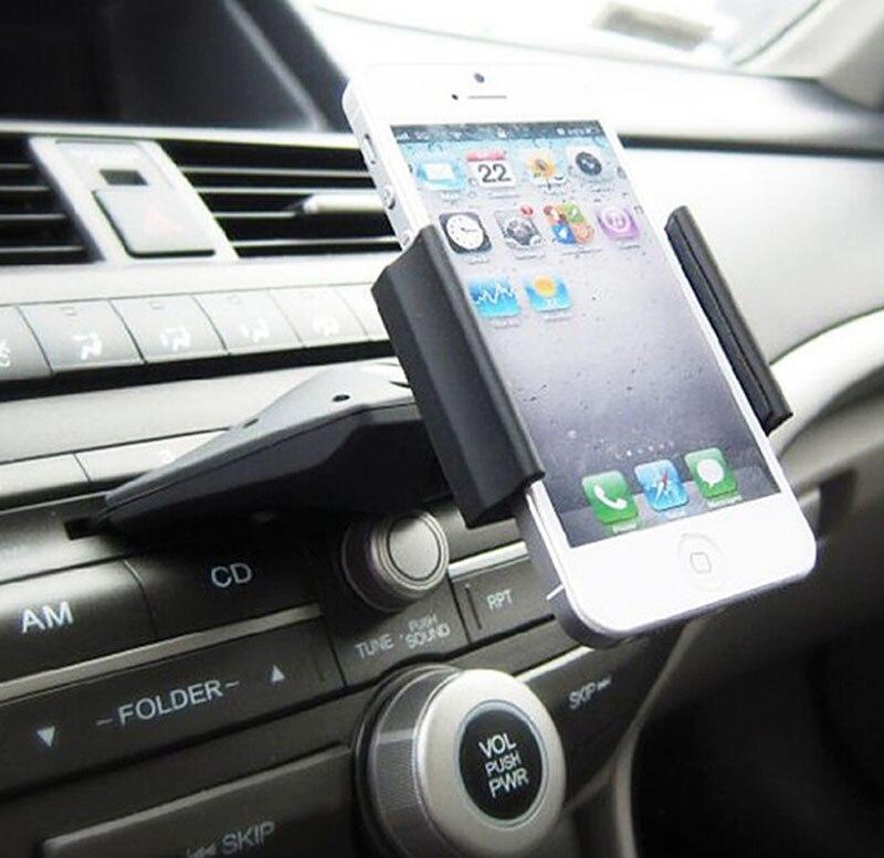 Car CD Player Slot Mount Cradle GPS Tablet <font><b>Phone</b></font> Holder Stands For <font><b>Alcatel</b></font> <font><b>Idol</b></font> X+ 6043D,Pop Star LTE,Pop Up,Pixi <font><b>4</b></font> (5)
