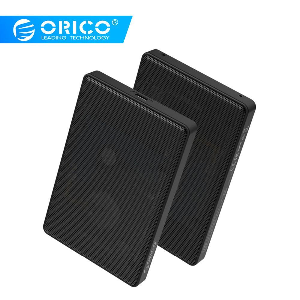 "ORICO 2.5"" Type C SATA HDD Case Full Mesh HDD Hard Disk Drive External 5Gbps HDD Enclosure USB3.0 Hard Drive Enclosure"