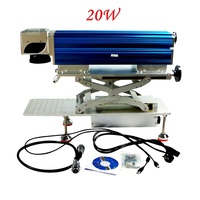 New LY FB 01 Smart Desktop Fiber Laser Marking Machine 20W Fiber Engraving Machine Russia No