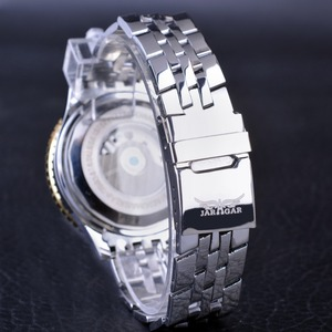 Image 5 - Jaragar Aviator Serie Militär Skala Gelb Elegante Zifferblatt Tourbillon Design Herren Uhren Top marke Luxus Automatische Armbanduhr