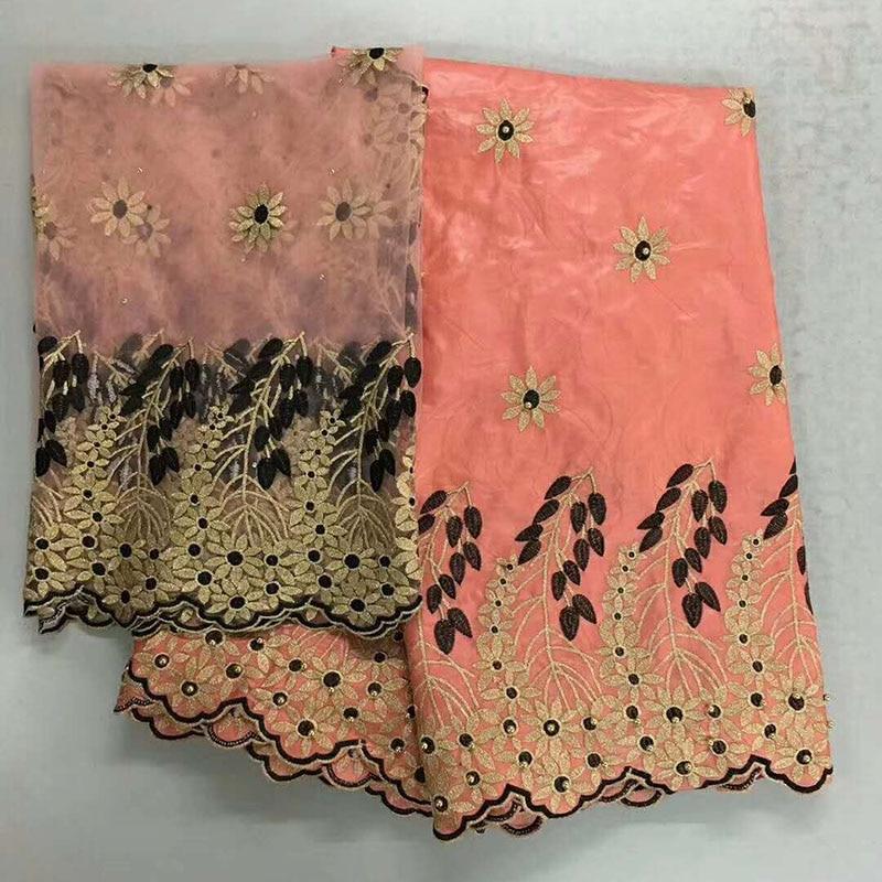 Стильная африканская Базен riche getzner ткани с бисером тюль кружева ткани парчи Африка Гвинея для свадьбы новое поступление