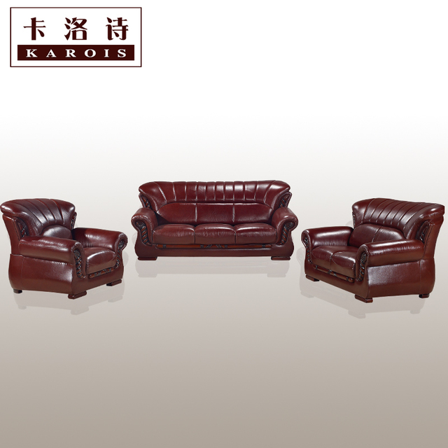 U Shape High Quality Leather Sofa Sectional Sofa Livingroom Furniture  123sectional Sofa Corner Sofa Export Wholesale