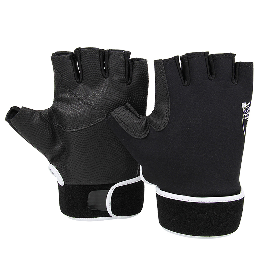 Trulinoya fingerless fishing gloves l size waterproof anti for Fingerless fishing gloves