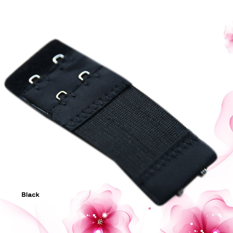 2016 Hot Sale Fashion Plus Elastic Telescopic 2 Button Bra Lengthened Buckle Stainless Steel Buckle Adjust Bra