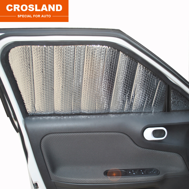 ФОТО 8/10pcs for MG3 MG5 MG6 MGGS Thickening of aluminum foil Shade block Sunscreen insulation Sun visor
