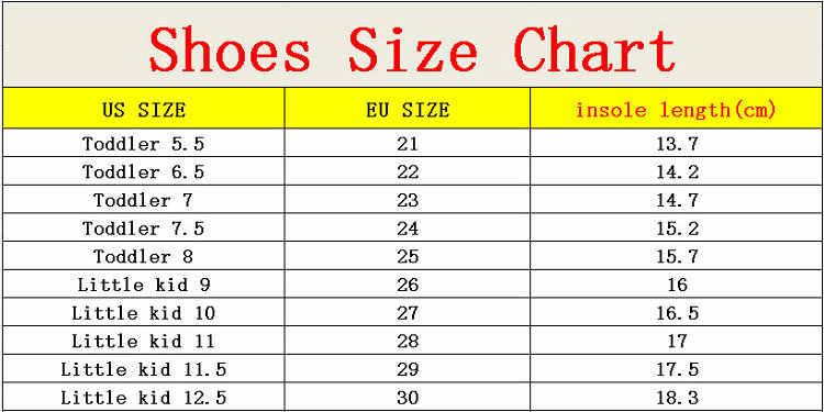 size 12 kids shoes in eu