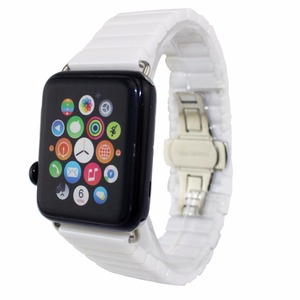 Image 4 - Pasek ceramiczny dla pasek do apple watch 38mm 42mm 40mm 44mm inteligentny bransoletka do zegarka ceramiczny linki pasek do zegarka iwatch serii 5 4 3 2 1