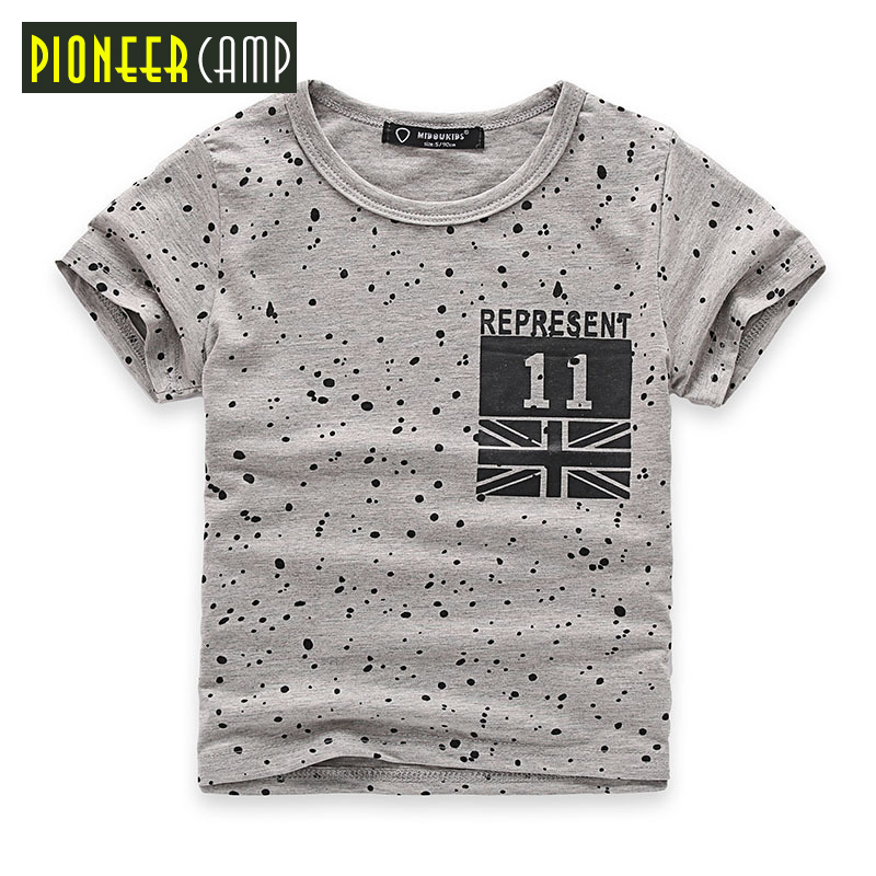 Pioneer Camp Kids 2017 Summer Kids T shirt Boy T shirt Cotton Children T shirt Fashion T shirts For Boys Clothes Tee&Tops pioneer cam t shirt