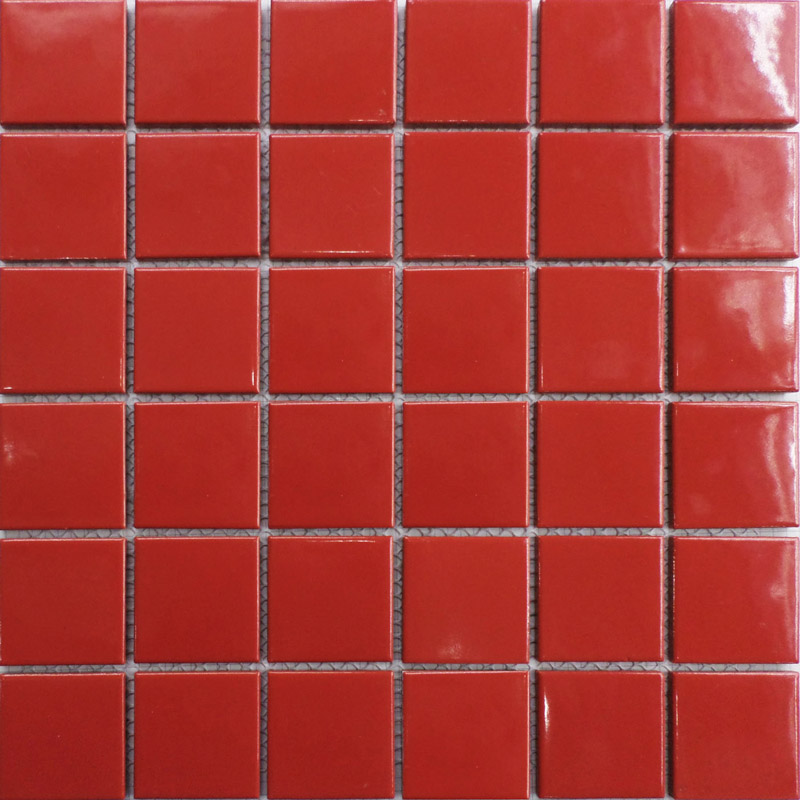 Red Floor Tiles Kitchen: Aliexpress.com : Buy Hot Red Square Ceramic Mosaic Tile