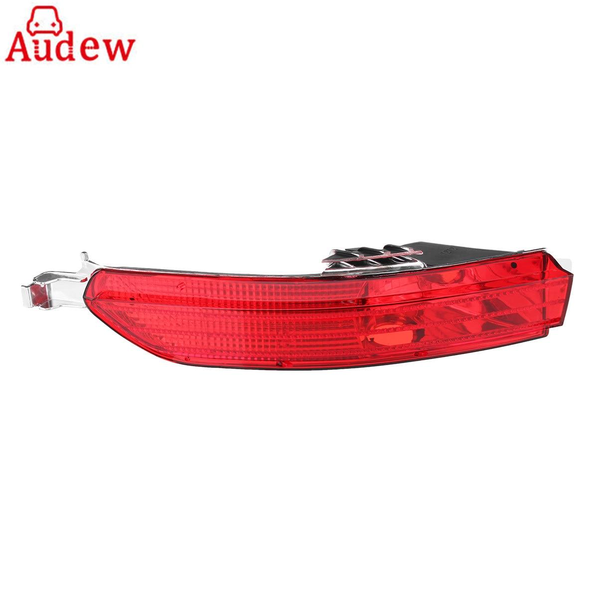 1Pcs Red Car Tail Light Turn Signal Lamp Left Rear Bumper Red Fog Light For VW TOUAREG 11 14
