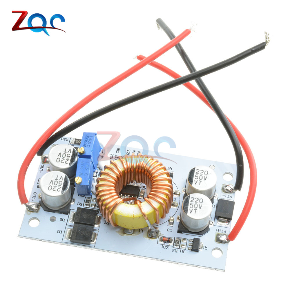250W DC-DC Boost Converter Adjustable 10A Step Up Constant Current Power Supply Module Led Driver For Arduino гель для стирки wellery delicate color для цветного белья 1 л