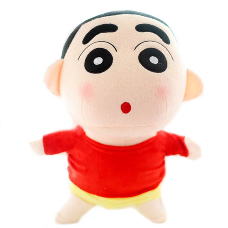 1pcs 35cm Naughty Crayon Shin Chan Stuffed Plush Doll Japanese Anime Shin-chan Action Figure For Best Gift