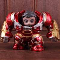Avengers Infinity War Hulk Buster Hulkbuster & Bruce Banner PVC Hot Toys Cosbaby Figure Action Marvel Collectible Model Toy Set