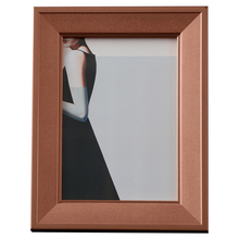 Modern minimalist solid wood photo frame table decoration European three-dimensional ornament