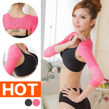 Lady Corset Body Underwear Hunchback Posture Correction Long Sleeved Arm Sleeve Swing Butterfly Shoulder