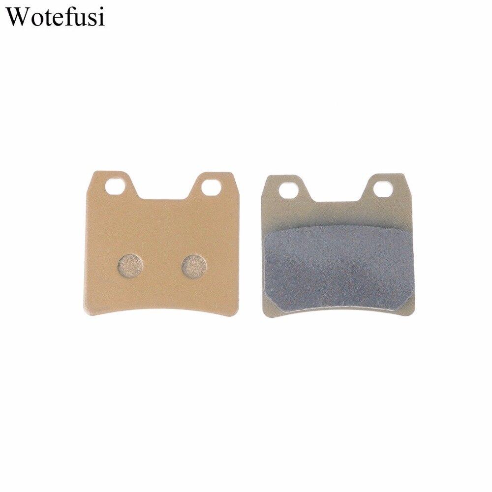 Wotefusi Rear Brake Pads For Yamaha 01-05 FZS 1000 Fazer 01-11 XJR 1300 N/P R/ST/V/W [PA243]