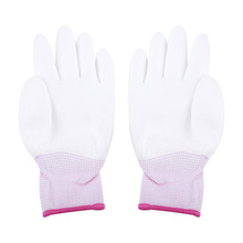Antiskid-Glove for PC Computer-Phone-Repair S-L Three-Color-Optional Finger-Part Pu-Coated