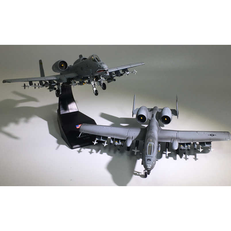 1:100 AMER Legering Simulatie Tank Bomber A10 USA 1994 Fairchild A-10A Lightning Fighter Aanval Model