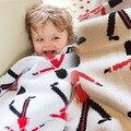 INS Джордж Ребенка Играть Мат Дети Малышей Одеяло Крышка Мальчики Девочки Развивающая Игрушка Ковер tapis коэльо лапин conejo манта Подушки