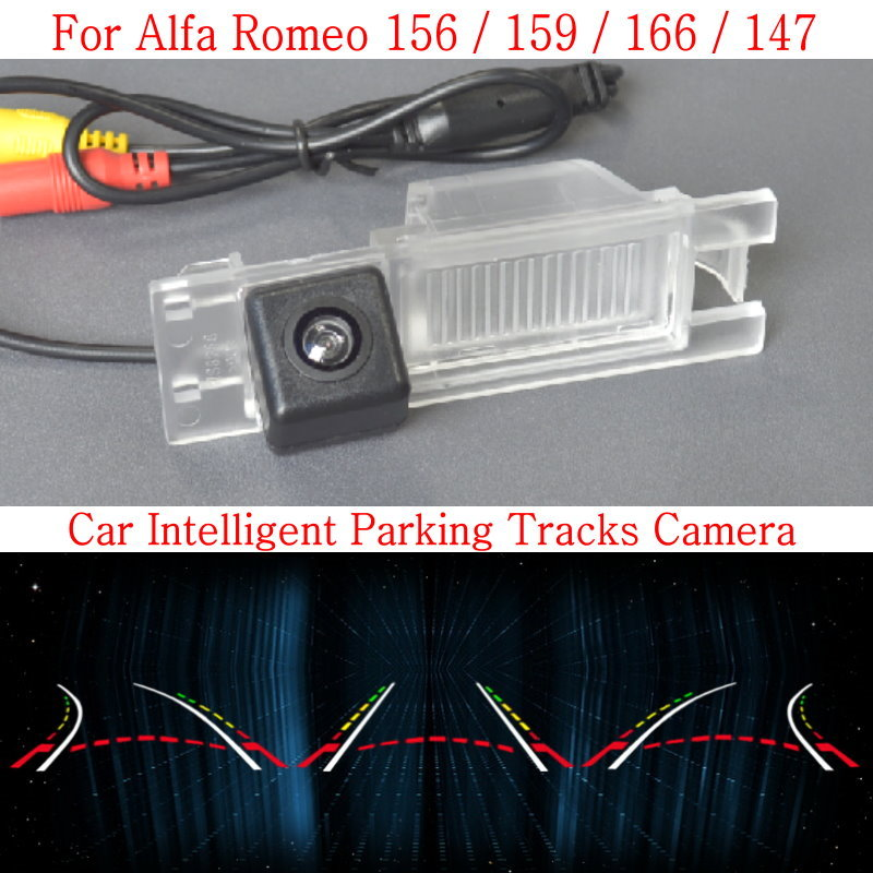 Lyudmila Car Intelligent Parking Tracks Camera FOR Alfa Romeo 156 / 159 / 166 / 147 HD Back up Reverse Camera / Rear View Camera lyudmila car intelligent parking tracks camera for hyundai creta ix25 2014 2017 hd back up reverse car rear view camera