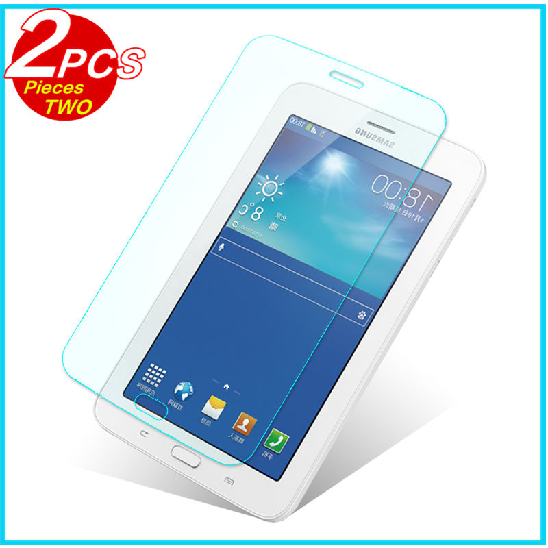 Tempered Glass membrane For Samsung Galaxy Tab 3 lite SM T110 T111 3 7Steel film Tablet Screen Protect Tab3 Lite 7.0 T116 Case protective clear screen protector for samsung galaxy tab 3 lite t110 transparent 5 pcs