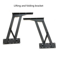 Levelers Computer desk dual use table lifting folding bracket Multifunctional custom furniture hardware accessories