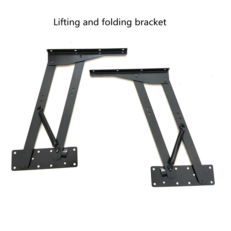 Levelers Computer desk dual-use table lifting folding bracket Multifunctional custom furniture hardware accessories hardware computer mainframe bracket computer accessories bracket zhjj x black