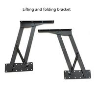 Levelers Computer desk dual use table lifting folding bracket Multifunctional custom furniture hardware accessories