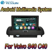 Для Volvo S40 C40 Автомобильный мультимедийный проигрыватель на Android Системы Радио Стерео gps навигации Мультимедиа Аудио Видео