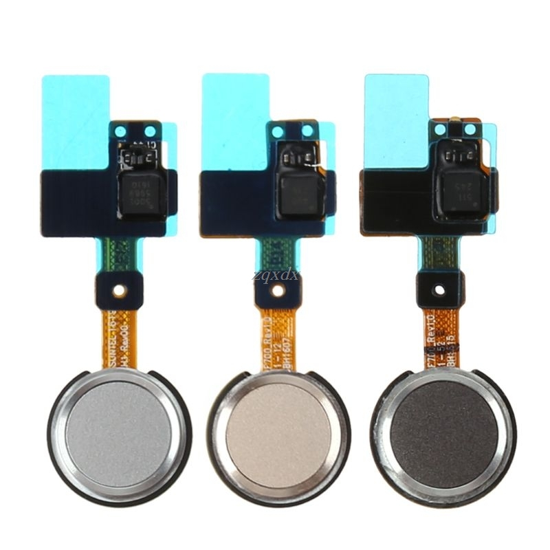 Gold Grey White Home Button Fingerprint Sensor Power Flex Cable Ribbon For LG G5 H820 H830 H840 H848 H850 Drop Ship