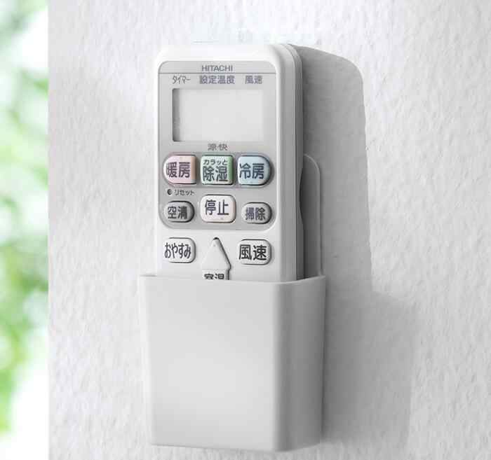 Fashion Remote controller holder Box Makeup Organizer Wall type Air Conditioner storage box Wall Mount TV Conditioner box