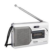 BC-R22 карманный портативный мини AM/FM радио динамик мир приемник телескопическая антенна мини портативный AM/FM радио динамик