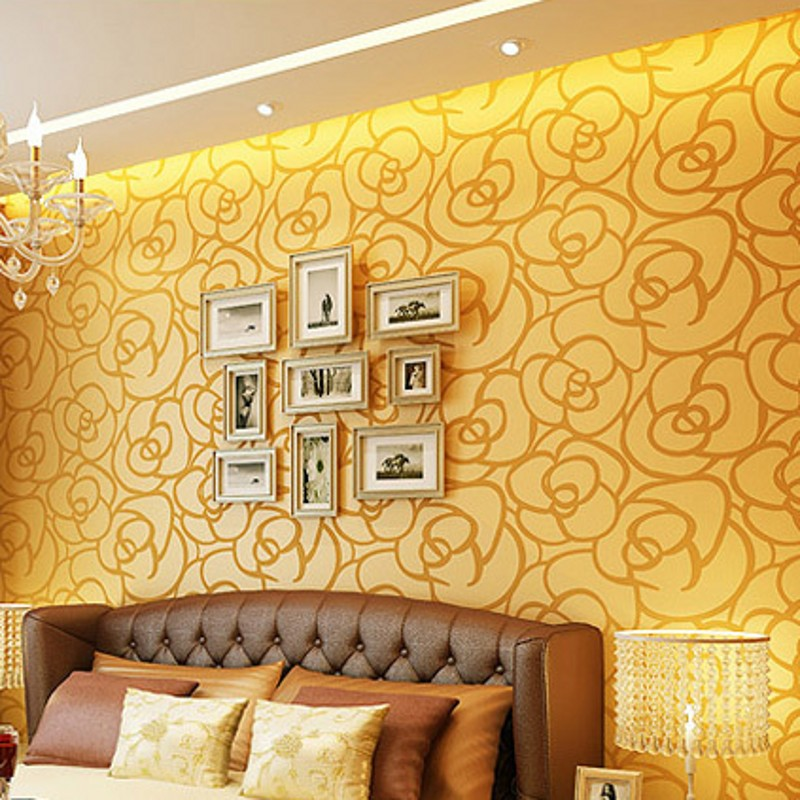 beibehang papel de parede 3d wallpaper modern minimalist romantic bedroom living room Flocked mural modern wallpapers wall paper 3d mural papel de parede purple romantic flower mural restaurant living room study sofa tv wall bedroom 3d purple wallpaper