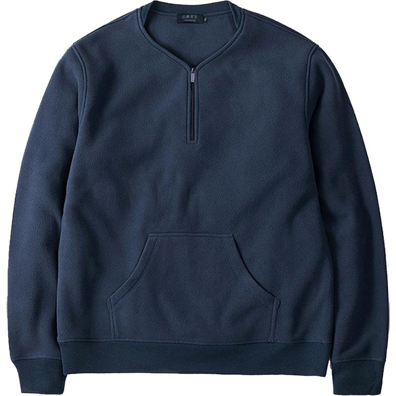 christmas men winter dress sweatshirts 7xl 8xl 9xl plus size men polar fleece Sweatshirts v-neck hip-hop 2