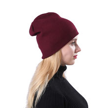 Winter Bomber Hats 2018 Fashion Earmuffs Hat Plush Solid Protectors Slouchy Russian Fur Hat Earflap Cap(China)