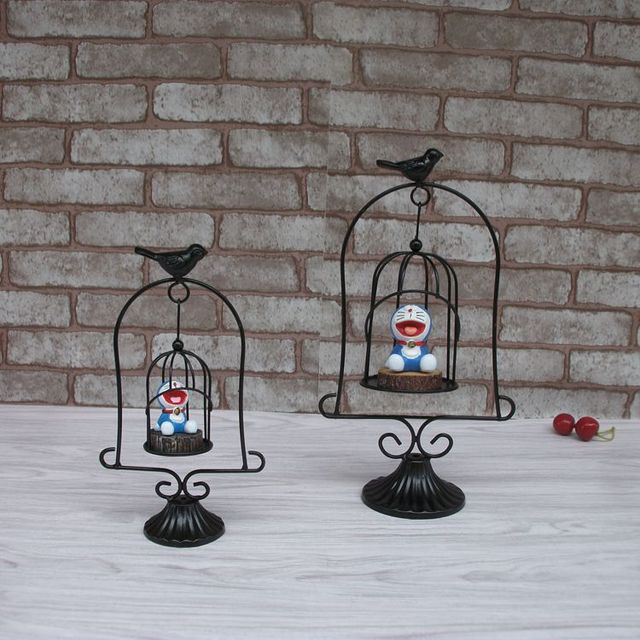 accesorios de bricolaje casero de la decoracin de escritorio resina artesana jingle cats forjado columpio de