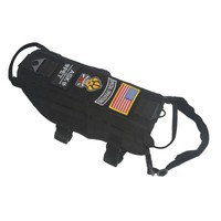 Outdoor Hunting Tactical Police K9 Dog Vest Harness Molle Usa Milspec Canine Hook Military Accessories FS