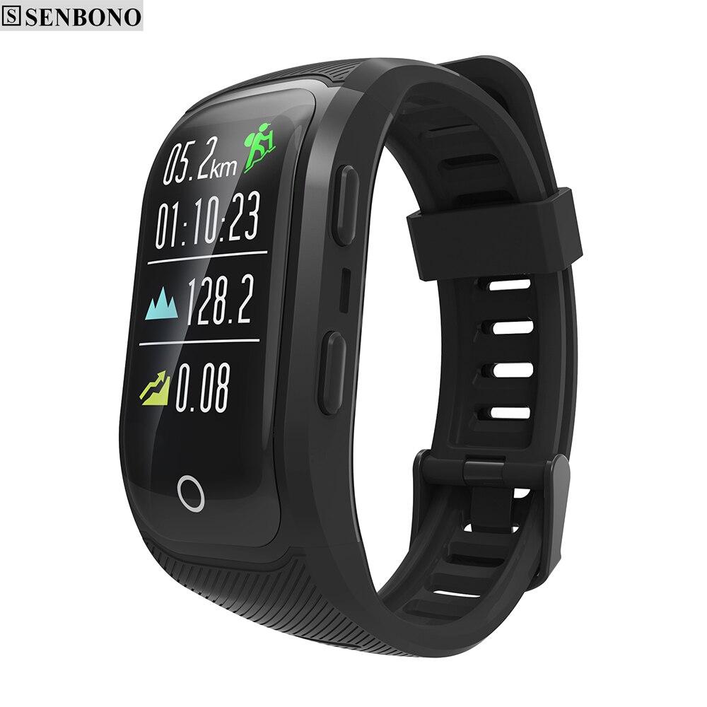 SENBONO G03 plus GPS Smart Fitness Band Multisport Fitness Tracker Heart Rate Monitor wristband IP68 smart