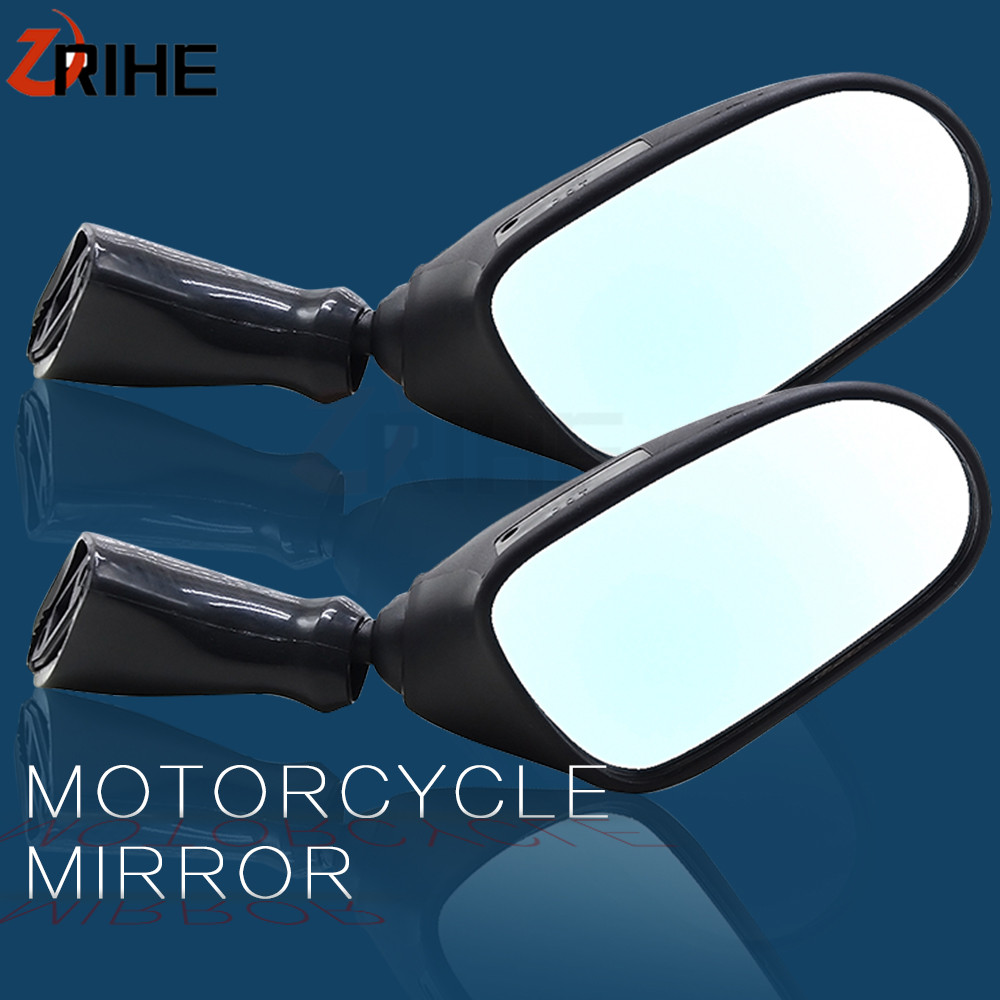 Motorcycle Accessories Side Rear view Mirrors Moto bike Back Mirror for <font><b>Suzuki</b></font> <font><b>GSX600F</b></font> 1998 <font><b>1999</b></font> 2000 2001 2002 GSX750F GSX 600F image