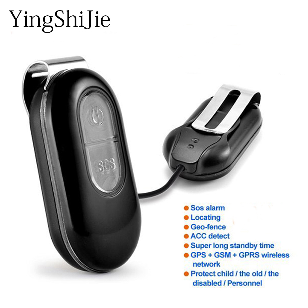 Yingshijie Gps-Tracker Sos-Button Children Tracking-Device Real-Time-Map Gprs Gps Elderly