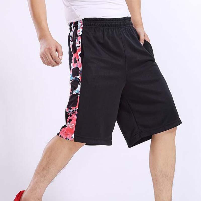 NUEVO 2020 Outdoor Sport Summer Jogger Shorts de baloncesto Hombres Cremallera Bolsillo Hasta la rodilla Entrenamiento Running GYM Plus Size M-3XL