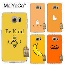 MaiYaCa Yellow bee Soft Transparent TPU Phone Case Accessories Cover For Samsung gaxlay s4 s5 s6 s7 s8 case(China)