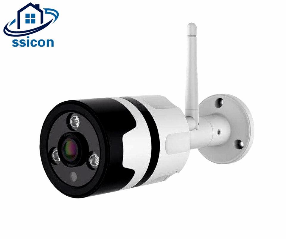 SSICON 1.0MP 1.3MP 2.0MP caméra IP sans fil WiFi Surveillance caméra moniteur CCTV étanche caméra extérieure deux voies Audio