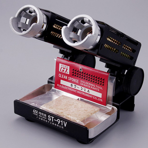 Image 5 - ST 91V de ST 90 ST 91M soporte de soldador, Base de Metal, soporte de hierro, 1 ud.
